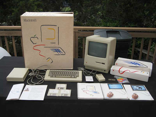 128k Mac packaging